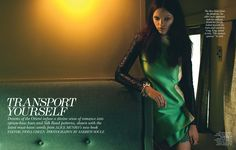 Transport Yourself | Jenna Earle | Andrew Soule #photography | Flare November 2012