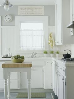 beadboard, wall color, cabinets...Kitchen Q: Small Kitchen Design