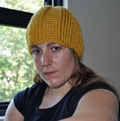 A Girl and Her Yarn: Ridged Beanie