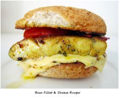 Basa Fillet Burger