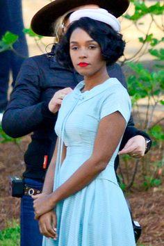 Janelle Monae portrays Mary Jackson in Hidden Figures (2016)