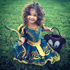 Toddler Merida/Brave costume