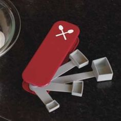 Swiss Army Scoopers . Wow! These would be great to have. :)