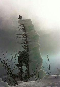Mother Nature playing around