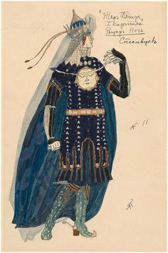 "russian-style — Alexander Golovin - Costume designs for ""The..."