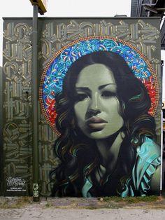 Photorealistic Graffiti by El Mac