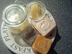Scrub soap  lotion bar  Diy