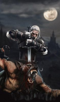 Geralt - the Witcher 3 Geralt - the Witcher 3 The Witcher 3, Witcher 3 Geralt, Witcher 3 Art, Witcher 3 Wild Hunt, Ciri, Witcher Tattoo, Witcher Wallpaper, Shadow Of The Colossus, Horror Comics