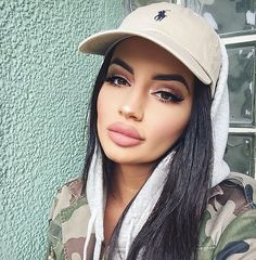 ♛ Pinterest: magda7g ♛ Her lips are way too big More