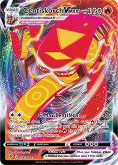 Centiskorch VMAX, Galarian Slowbro V, and More in Pokémon TCG: Sword & Shield—Darkness Ablaze | Pokemon.com Pokemon Go, Pokemon Card Memes, Pokemon Rayquaza, Pokemon Fusion Art, Cool Pokemon Cards, Rare Pokemon Cards, Pokemon Trading Card, Pokemon Meowth, Pikachu Art