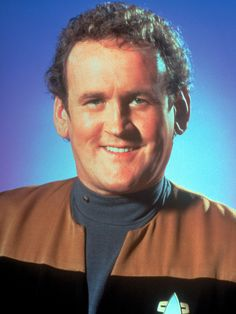 Colm Meaney as Chiel Operations Officer Miles O'Brien  (this is one man id like to have met.) he was supposed to attend the mega con orlando. and cancelled last minute.) i was so close...lol oh well.