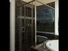 Types of tile showers. Showers with custom tile design. Built by Stanton Homes.