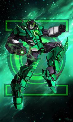 Green Lantern Bot by Lanveril