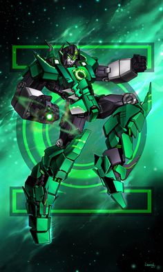 Green Lantern of Cybertron.