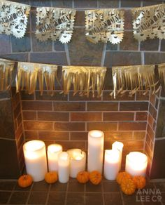tissue paper banners