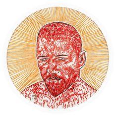Conrad Botes self-portrait