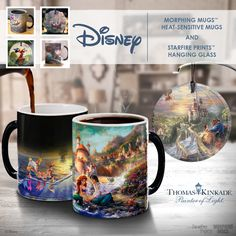 Tune in to HSN's Wonderful World of Disney show today to see morphing mugs and hanging glass products by Trendsetters LTD featuring Thomas Kinkade art. https://thomaskinkade.com/news/thomas-kinkade-studios-morphing-mugs-on-hsn/