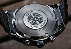 Seiko Astron GPS Solar Dual Time Watch Review Wrist Time Reviews Gadget Watches, Seiko Watches, Popular Watches, Watches For Men, Ecg App, Seiko Sportura, Types Of Technology, Photovoltaic Cells, Android Watch