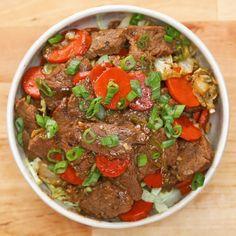 Paleo Beef and Veggie Stir-fry Recipe by Tasty