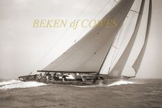 Endeavour I & II 1936 © Beken of Cowes :: Image :: J Class Association Classic Sailing, Classic Yachts, J Class Yacht, Marine Photography, Used Sailboats, Best Yachts, Below Deck, Chevy Chase, Sailing Ships