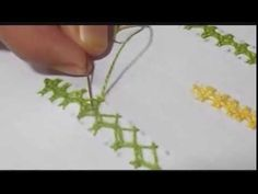 How to make Hand embroidery Sindhi straight stitch in Urdu/Hindi
