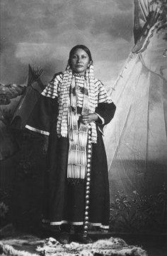 Frances Striped Cloud - Hunkpapa - circa 1910