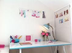 home styling, interiors, home office, working from home, studio, creative studio, wedding planners, event planners, interior design, pink, blue, pocketful of dreams