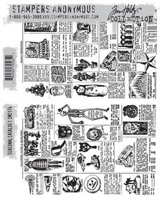 Tim Holtz - Stamper's Anonymous cms174