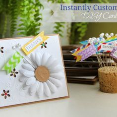 Simple and Instantly Customizable DIY Cards