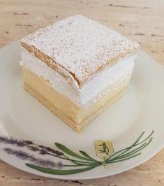 Ha valami édeset enne a család, mi más készülhet, mint a felhő krémes - Egyszerű Gyors Receptek Hungarian Cake, Vanilla Cake, Sweet Recipes, Oreo, Food And Drink, Gluten, Mint, Sweets, Cakes