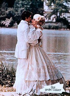 "With Horst Bucholz as Johann Strauss Jr. in ""The Great Waltz"" (MGM, 1972)... soooooo romantic!"