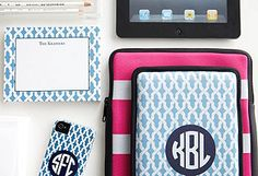 Fun monogrammed things!