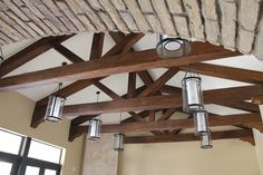 Transform that drab cathedral ceiling into something spectacular! Our Superior Faux Wood Beams can do just that! This beautiful truss system was created by using just 3 different contemporary (or...