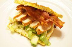 Low carb lækkerier: Clubsandwich med kylling og bacon
