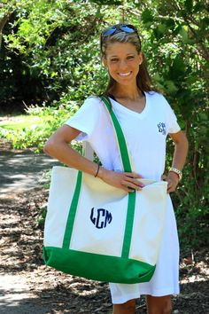 Monogrammed Cover Up OR Nightgown by NavyAnchorMonograms on Etsy, $22.00