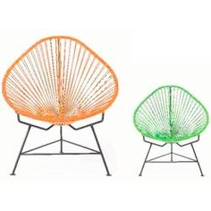 Baby Acapulco Chair In Cactus By Innit Designs