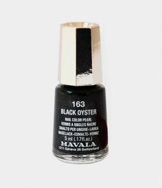 Mavala Swiss Nail Polish Black Oyster 163