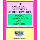 If you are frustrated with  rewriting goals and objectives and are looking for a product with a bank of IEP content, then this is for you. Contains over 110 possible goals and objectives.  Applicable for all grade and  disability levels.  Teach Every Child and document differentiated instruction.  Bonus section of accommodations and rewards included that may be written into your IEP.  Academic product similar format also available.