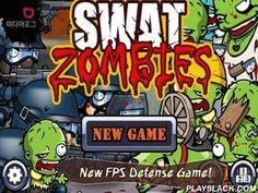 SWAT And Zombies  Android Game - playslack.com , SWAT and Zombies - a perfect tactical strategy, where people of the elite detective division SWAT should elude to the blood-thirsty zombies, attempting  to take the municipality! Despite humorous drawn design the game is arduous and very captivating! The mass of the different units, each with its quality and outgo, a gigantic amount of accessible transformations, gigantic-scale combats where you need to concentrate limit attention to elude…