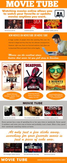 Visit this site www.movietubenowinhd.com for more information on Movie Tube. Several of the sites that supply you to view cost-free flicks online utilize a manuscript to gather your delicate information, including any sort of credit card you have used on that particular computer system to pay your expenses, as well as unless your charge card companies obtain your back on the fraudulent transactions you will find yourself in deep troubles.  Follow us: http://secure.gravatar.com/bestmovietube
