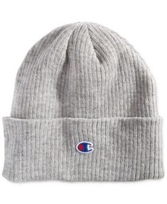 0f698904e53 Champion Men s Cuffed Beanie - Gray Grey Beanie
