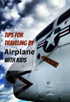 Tips for Traveling by airplane with kids