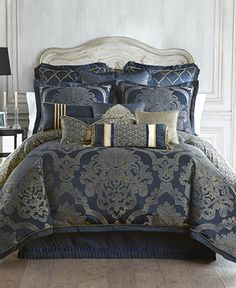 Waterford Vaughn Bedding Collection - Bedding Collections - Bed & Bath - Macy's