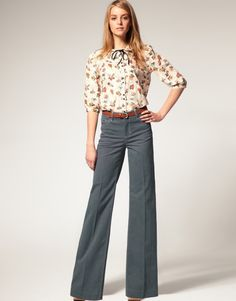 in love with high waisted pants!