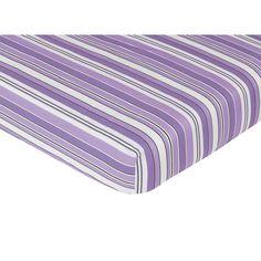 Sweet Jojo Designs Kaylee Fitted Crib Sheet - Stripe