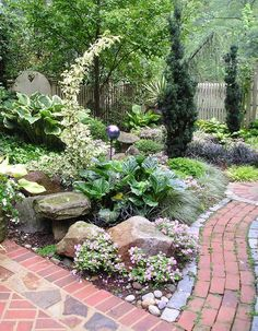 7 Design Tips for Shady Gardens - Longfield Gardens - Some gardeners never spend a minute thinking about design. Others (like me) can spend a year fi - Shade Flowers, Shade Plants, Fruit Flowers, Backyard Pergola, Backyard Landscaping, Backyard Ideas, Landscaping Ideas, Pergola Shade, Pool Ideas