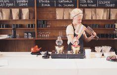 Melbourne - Auction Rooms - cafe