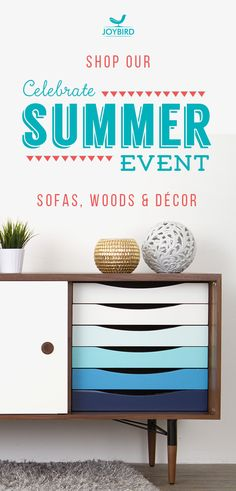 Why be generic when you can stand out with Mid Century Modern furniture from Joybird? Take 20% off sofas, wood items, and decor right now during our Summer Sale Event! All Joybird furniture comes with FREE in-home delivery & lifetime warranty!