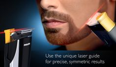 Philips Launches Laser Guided Beard Trimmer