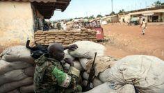 Gerilim başkent Bangui'nin dışına sıçradı